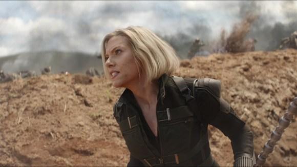 "Black Widow (Scarlett Johansson) returns in ""Endgame"" before getting her own solo prequel film."