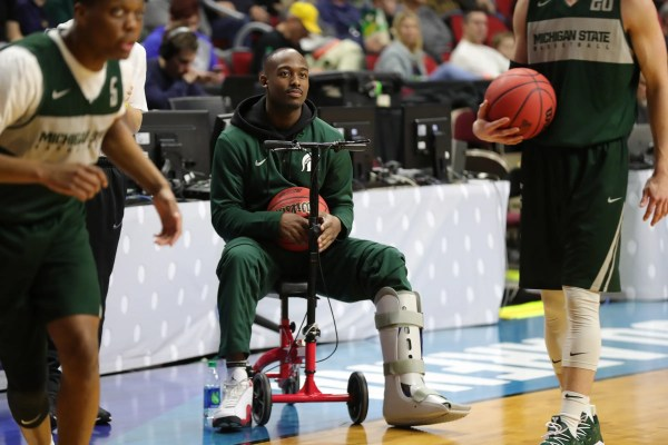 Michigan State basketball loses Joshua Langford indefinitely to injury