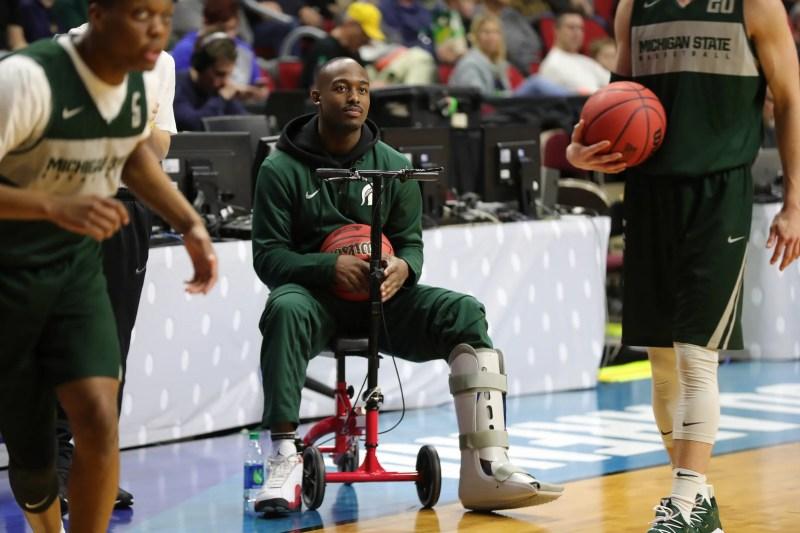Michigan State basketball loses Joshua Langford indefinitely to injury
