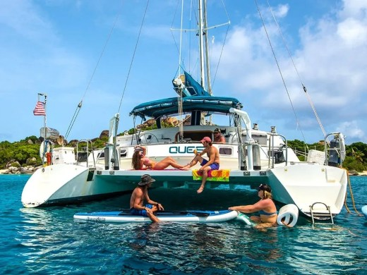 Quest Catamaran Sailing Charters in US Virgin Islands