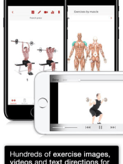 That app is rated sixth in the Paid Health & Fitness category on iPhone with 3,900 ratings.