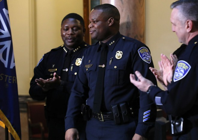 """I will not sit idly by while outside entities attempt to destroy my character,"" La'Ron Singletary wrote in his retirement letter. He completed his 20th year of service with the Rochester Police Department last month."