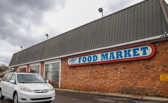 One Stop Kosher Food Market in Southfield, Michigan will be photographed on Friday, April 12, 2019.