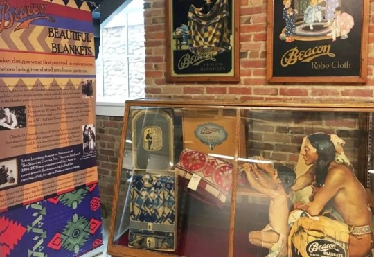 Beacon Blankets exhibit at Swannanoa Valley Museum