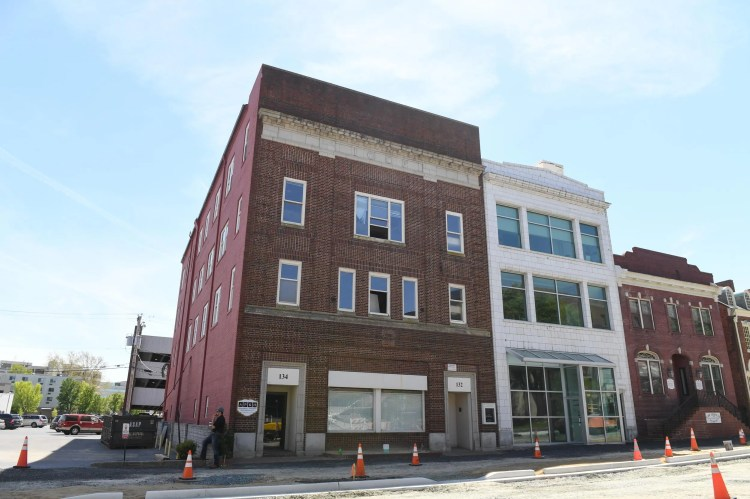 "Salisbury developer Nick Simpson will develop the East Main Street buildings into a 12-story ""high-rise"". It's set to be Salisbury's tallest building. The Ross building is planned to also have a sky walk attaching the building to the downtown parking garage."