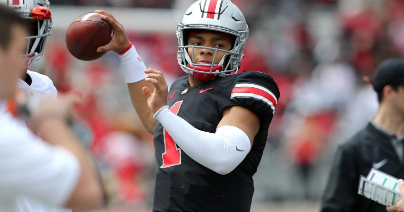 Image result for justin fields ohio state