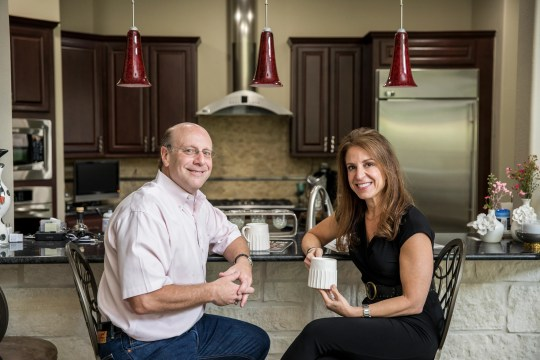 Jeff and Shelly Levy plan to stay in a four-bedroom house with 3,900 sq. Ft. In the Memorial part of Houston.
