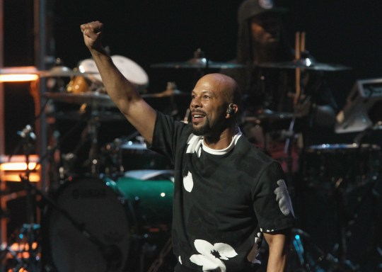 Common performs at AIDS Healthcare Foundation's Keep the Promise Concert at the Dolby Theatre in Hollywood on November 30, 2016.