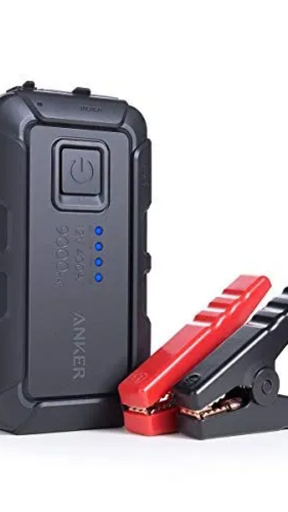 Roav Jump Starter comes with jumper cables