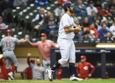 Reds 3, Brewers 0: Without offensive leader Christian Yelich the Brewers suffer their first blanking