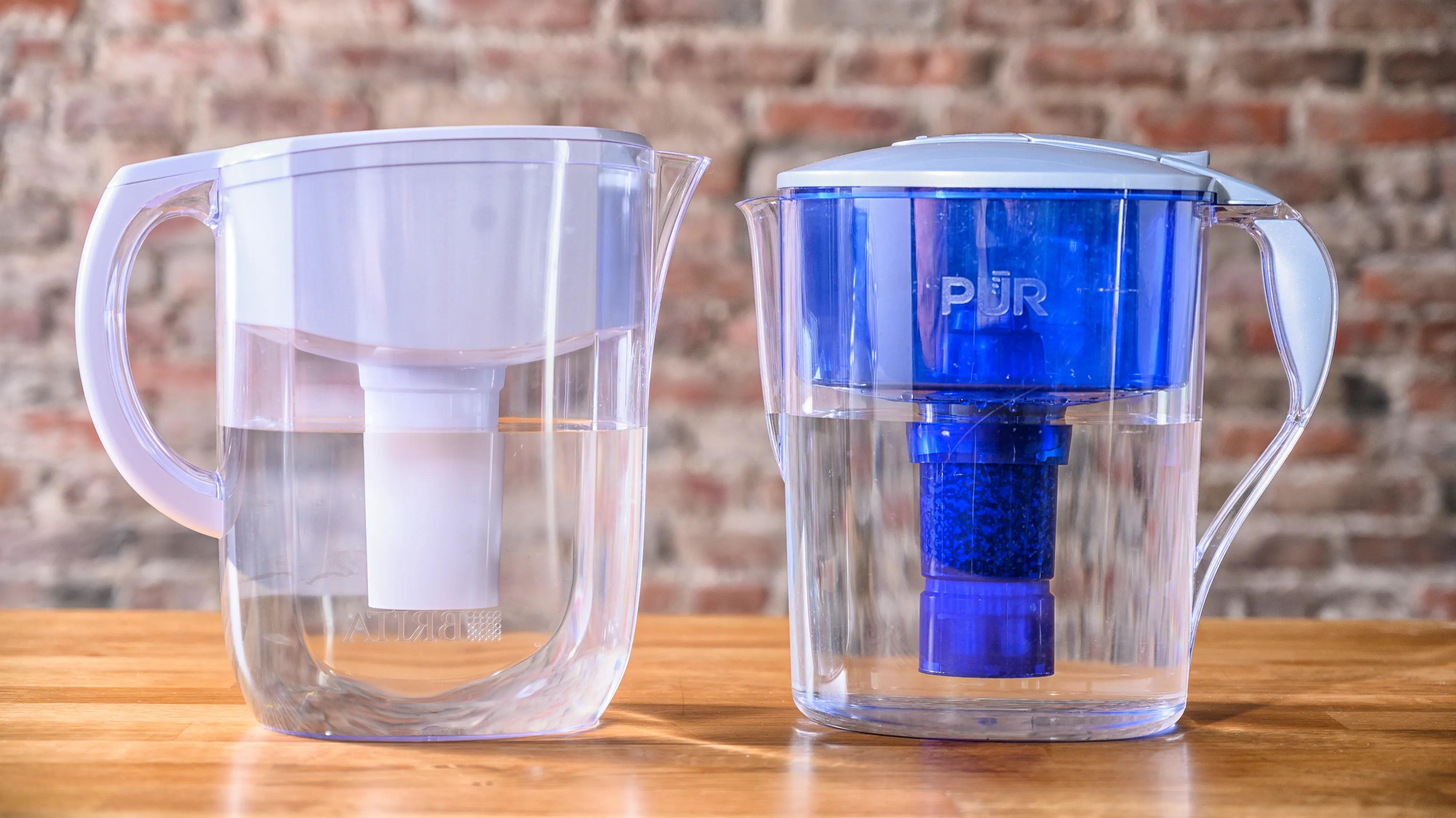 water filter pitchers brita pur