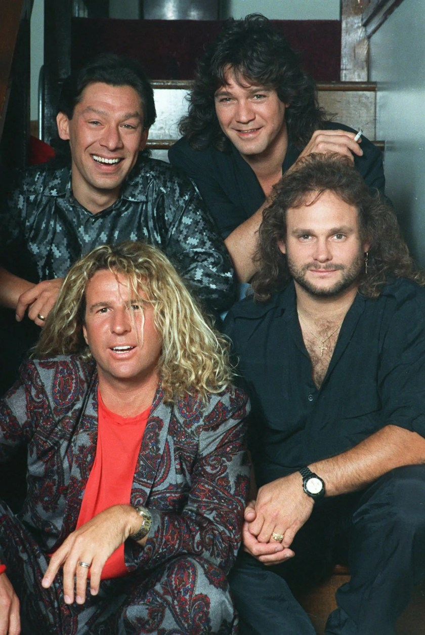In his 2011 memoir &nbsp;&ldquo;Red: My Uncensored Life in Rock,&rdquo; Van Halen singer Sammy Hagar (bottom left) detailed the band's&nbsp;infamous backstage changing areas, which the band and its crew referred to as &quot;sex tents.&quot; He shared more details in an interview that year with&nbsp;&nbsp;Boston&rsquo;s WZLX 100.7 FM. &quot;I&rsquo;d walk down there when Eddie (Van Halen) was doing his solo, but sometimes there&rsquo;d be four or five girls down there, which was to my order. Sometimes it was and the roadies were just like, &lsquo;Hey, these girls wanted to meet you.&rsquo; And I&rsquo;m like, &lsquo;Here I am!&rsquo; &nbsp;You start changing your clothes because they&rsquo;re all sweaty. You have a 20-minute break, and it&rsquo;s like, next!'&quot;<br /> &nbsp;