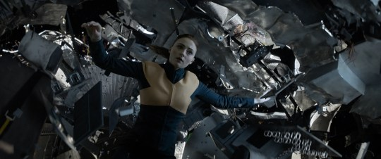 """A space mission goes very awry for Jean Grey (Sophie Turner) and the X-Men in """"Dark Phoenix."""""""