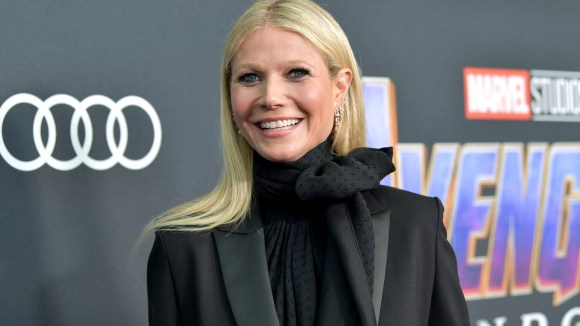 """Oops: Gwyneth Paltrow (aka Pepper Potts) momentarily she forgot she appears in """"Spider-Man: Homecoming."""""""