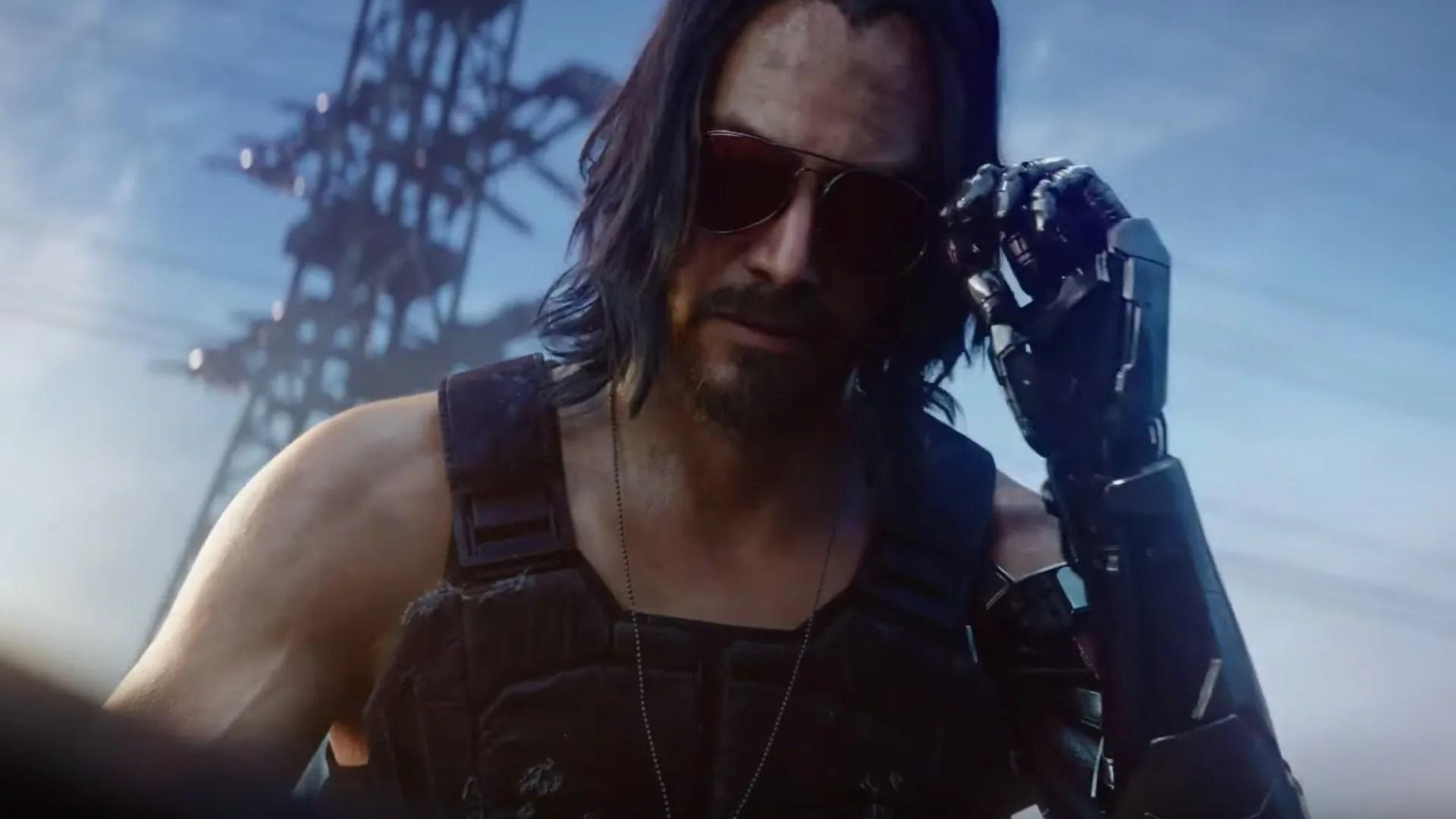 Keanu Reeves appears in the video game 'Cyberpunk 2077.'