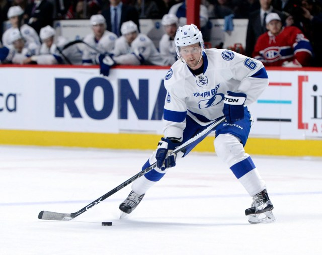19. D Anton Stralman, Tampa Bay Lightning, $4.5 million. New team: Florida Panthers, three years, $16.5 million