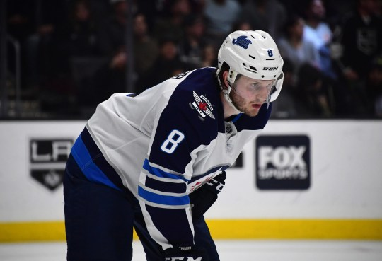 Jacob Trouba has been traded to the New York Rangers.