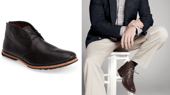 These boots are lightweight yet durable.