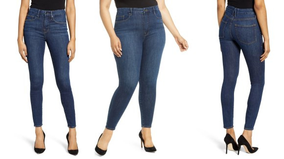 These jeans from Good American have a contoured waistband and are especially perfect for curves.