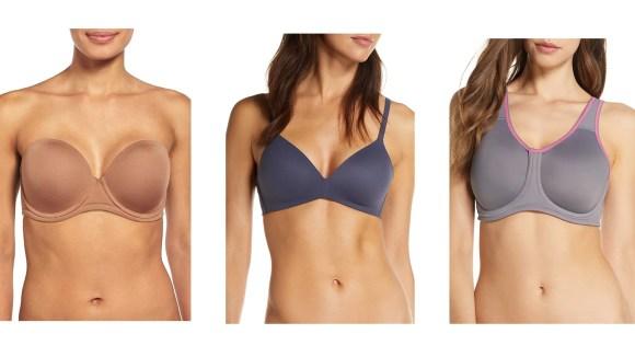 Comfort often trumps design when it comes to everyday bras.