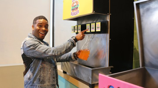 Kel still loves orange soda.