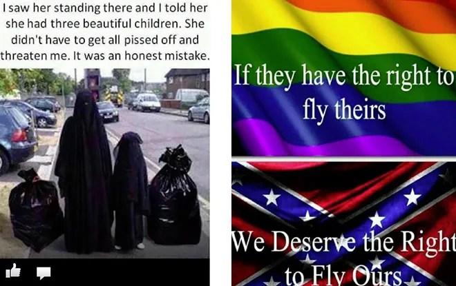 Deputy Prison Warden Posts Facebook Meme Comparing Muslims To Garbage