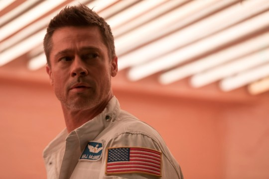 """Brad Pitt plays an astronaut who ventures into space to find his dad and save the world in the sci-fi film """"Ad Astra."""""""
