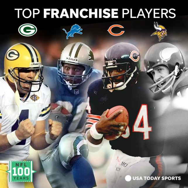 NFL 100: These are the best players in the history of each NFL franchise