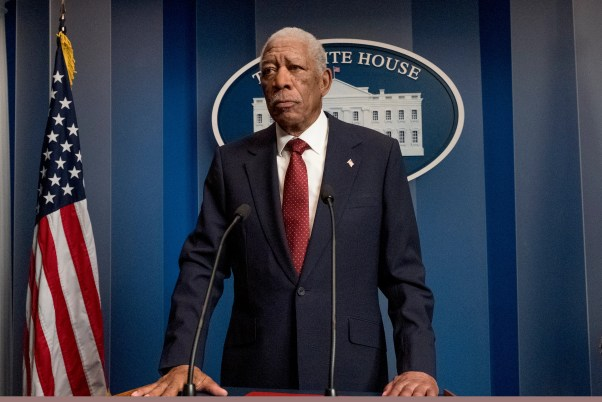 Angel Has Fallen: How does Morgan Freeman rank among movie presidents?