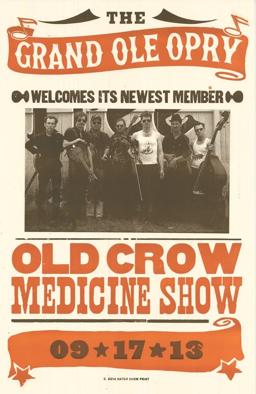 old crow medicine show captures ryman