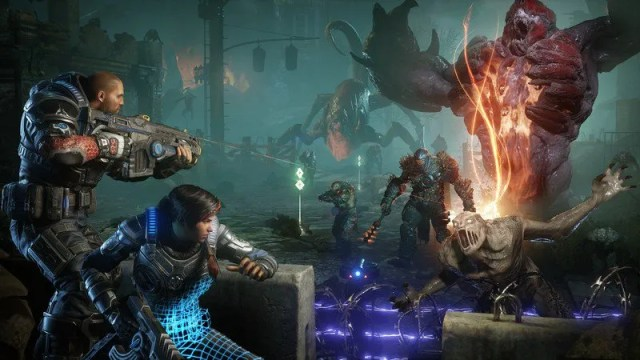 Gears 5: The Locust is back in Gears 5. This third-person tactical shooter offers a bigger campaign mode and several multiplayer options.