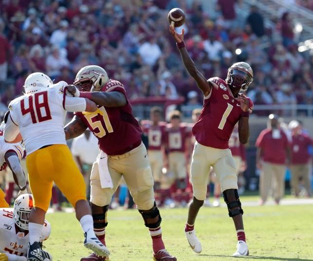 Florida State football names James Blackman as starting quarterback for Clemson