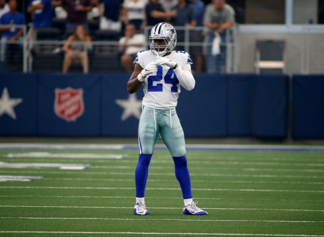 'I don't even drink protein shakes': Cowboys laugh about drug test after CB Chidobe Awuzie hits 22.81 mph chasing Saquon Barkley