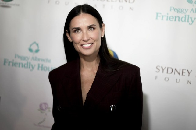 Demi Moore, 56, strips down on Harper's Bazaar cover, talks sobriety, miscarriage in her 40s