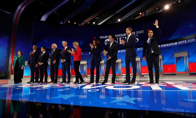 12 candidates, one night: Here's who has made the October debate