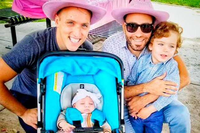 Gay married couple say State Department denied child's citizenship claim, said she was born 'out of wedlock'