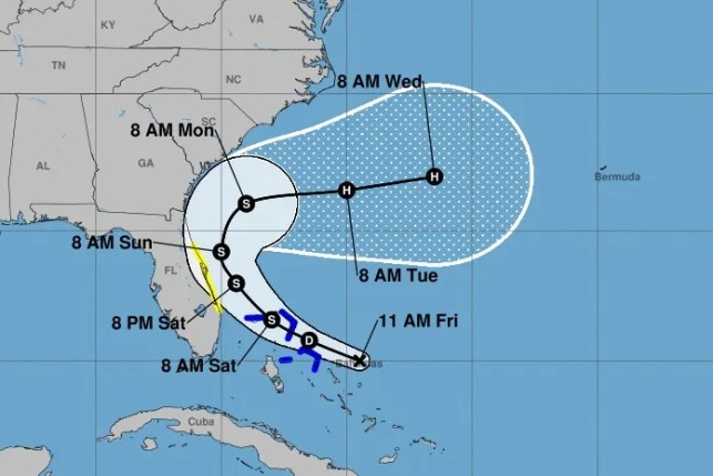 Another tropical storm is developing in the Atlantic. Here's when it could hit Florida