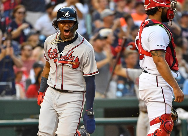 Braves pound NL East rivals Nationals to clinch playoff berth