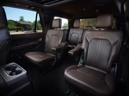 The 2020 Ford Expedition King Ranch SUV.