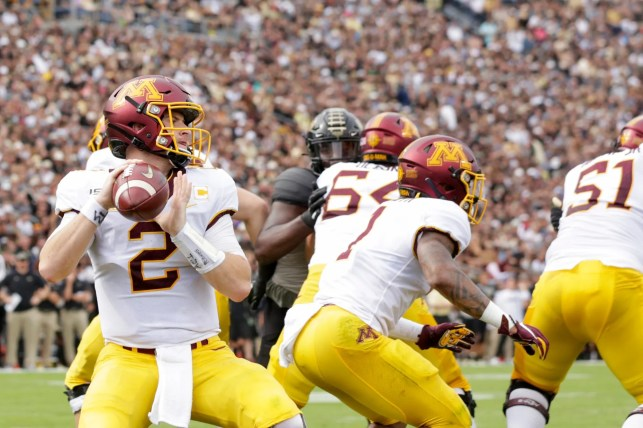 Tanner Morgan starring at No. 7 Minnesota after 'a lot of schools missed out'
