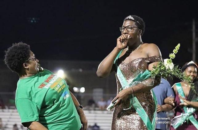 Meet the Memphis teen who wore a gold gown when he was crowned Homecoming Royalty