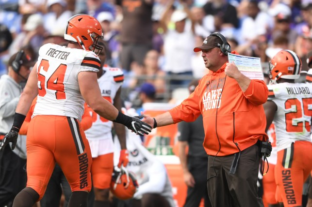 Opinion: Freddie Kitchens passes big test as Browns coach with win over Ravens — even if he won't say so