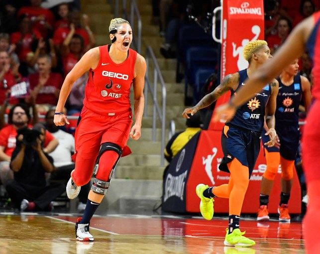 Opinion: Game 1 win in WNBA Finals for Mystics, Elena Delle Donne makes larger statement