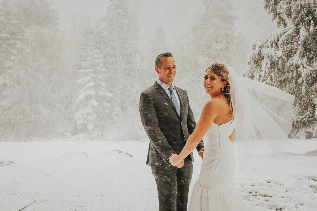 A couple planned for a fall wedding in Washington state. A 'historic' snowstorm changed everything