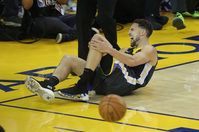 Warriors' Klay Thompson out until at least All-Star break as he recovers from torn ACL