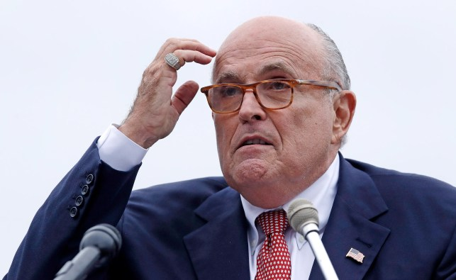 Rudy Giuliani hires Watergate prosecutor to represent him in impeachment inquiry