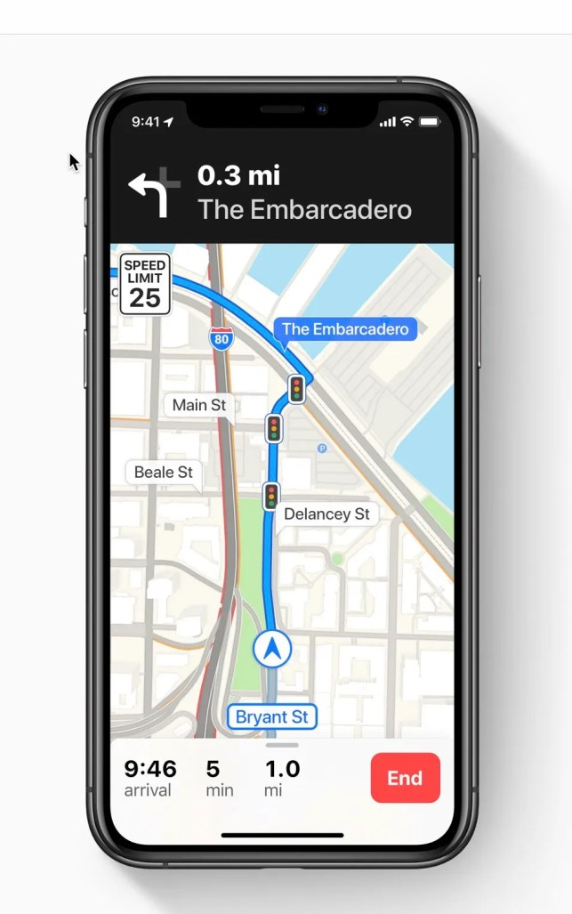 Apple Maps is improved, but still is no Google Maps