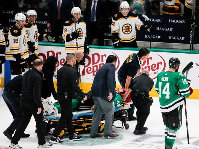 Agent rips broadcaster for saying Stars player's injury was a 'little bit of bad hockey karma'