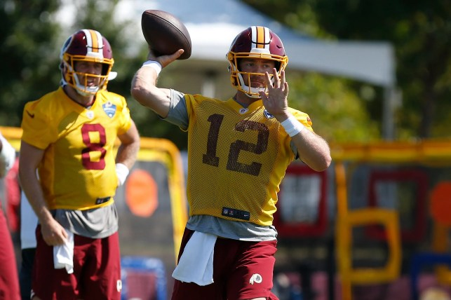 Washington Redskins will start QB Colt McCoy, not Dwayne Haskins, against Patriots