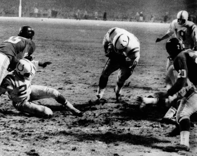 1958's 'Greatest Game Ever Played' between Colts and Giants named best game in NFL history